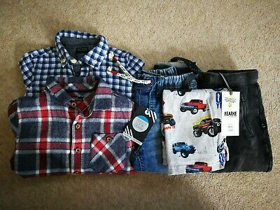 Bundle Of New Baby Boys Clothing 18-24 Months 1.5-2 Years