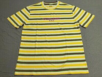 2621a53823e1 Guess Jeans x Sean Wotherspoon Farmers Market Stripe YW Pineapple Shirt Med  M/Lg