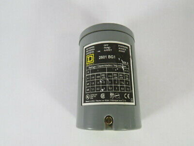 Square D 2601-BG1 Reversing Drum Switch 115-230V 2HP 1,1kW Series B  AS IS