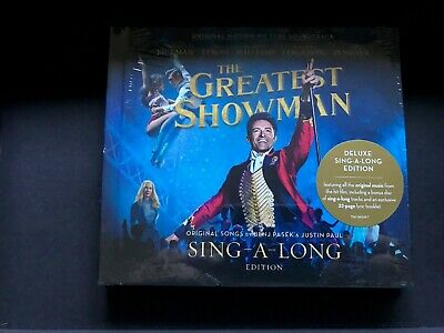 THE GREATEST SHOWMAN SOUNDTRACK SING-A-LONG EDITION 2 CD New Release (2018) NR
