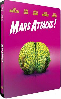 [Blu-ray] Mars Attacks! version Steelbook - NEUF SOUS BLISTER
