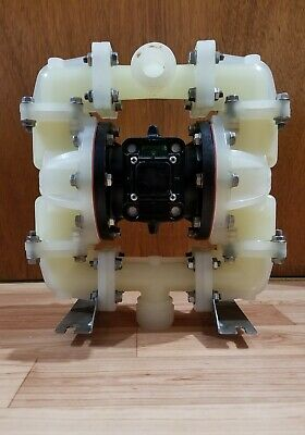 "Sandpiper Air Operated Diaphragm Pump 3/4"" Inlet/Outlet Model #S07B1P2PPNS000"