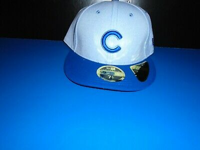 size 40 4219b dafab Chicago Cubs New Era 59FIFTY Low Profile Fathers Day Fitted Hat NEW