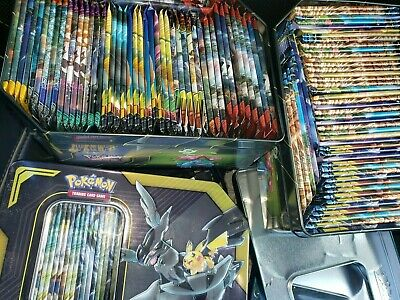 11x Sealed Random Pokemon Sun and Moon Through Unbroken Bonds Booster Packs