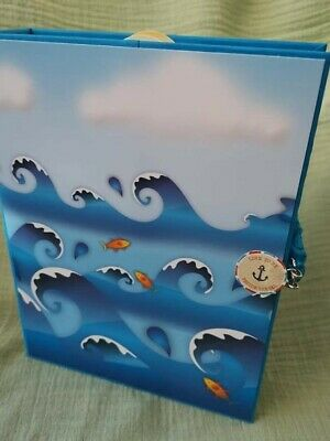 Summer Holiday Photo Album , Sea Memory Book, Handmade Summer Keepers