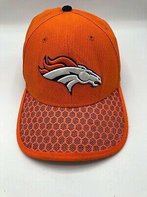 brand new 4eb06 e21ab Denver Broncos New Era NFL Official Sideline 39Thirty Cap Hat Small Medium  S M