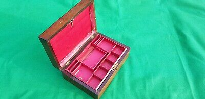 Antique box, Jewellery, Trinket,  in need of some tlc or slight restoration