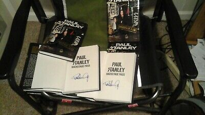 Kiss Paul Stanley Signed Autographed Book Backstage Pass