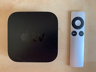 Apple TV 3rd Generation, Early 2012 (A1427), used, includes remote