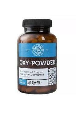 Oxy Powder Oxygen based Intestinal Cleanser- Constipation Relief- 120 Caps