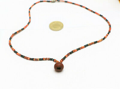 Pre Columbian OLD TRADE BEADS Necklace shell Spondylus antique mochica