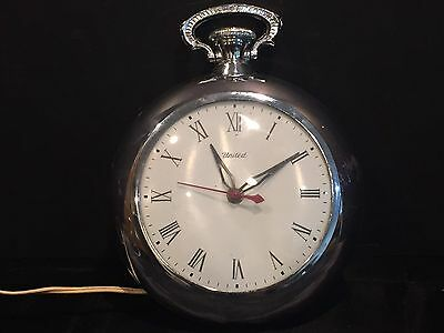 """Vintage United Electric """"Pocket Watch"""" Wall Clock"""