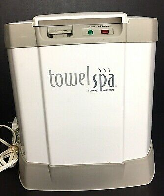 Brookstone Innovation Towel Spa Electric Towel Warmer TESTED WORKS Spa Nursery