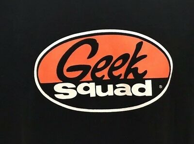 Geek Squad Employee Uniform T Shirt Sz Xl Best Buy Awesome Shirt! Must Have!!!