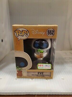 Funko pop 552 EVE wall-e BOXLUNCH earth day exclusive DISNEY