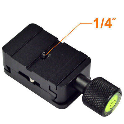 """1/4"""" Mount Clamp Quick Release Plate For Benro Arca Swiss Tripod QR Hot Sale"""