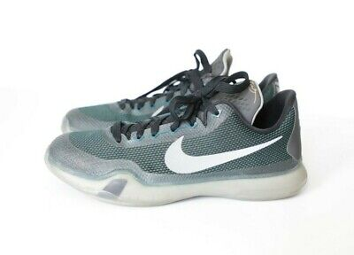 finest selection 56b38 d2246 NIKE KOBE BRYANT X 10 (GS) 726067-308 Dark Teal Silver (