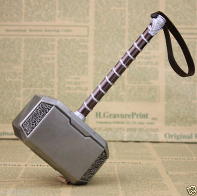 20cm New Large Alloy Avengers Thor Hammer Costume cosplay Prop Marvel Mjolnir