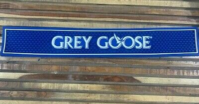 Grey Goose Vodka Professional Series Bar Mat - 24 x 4 inches NEW Blue BarWare