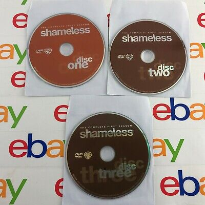 Shameless: The Complete First Season Disks Only (DVD, 2011, 3-Disc Set)