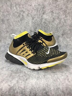 best authentic 510a5 35f31 Nike Air Presto Ultra Flyknit Brutal Honey Mens Running Shoes Size 10.5  Black