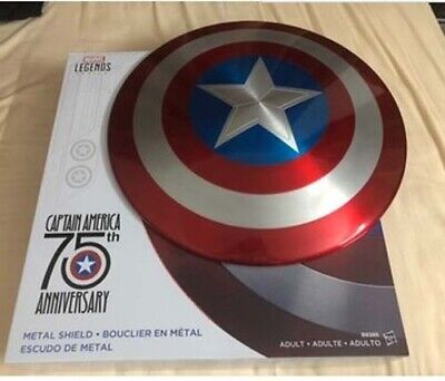 Marvel Legends Captain America 75th Anniversary 1:1 Metal Shield Cosplay By DHL