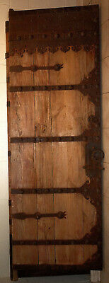 Bargain Chinese Antique Wood Doors with Ironwork - make me an offer