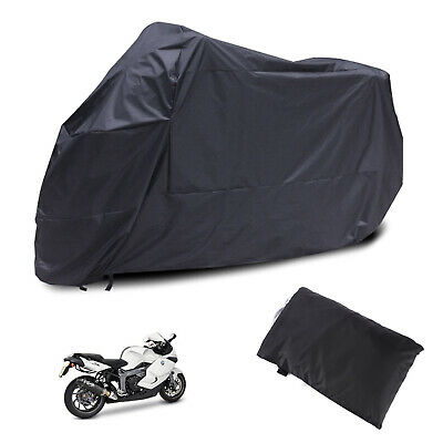 Waterproof Motorcycle Scooter Rain Vented Outdoor Motorbike Cover XXL Large