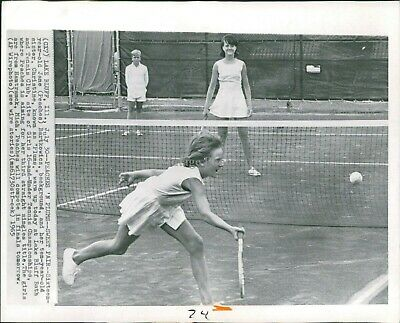 1965 Wire Photo Sports Jane Peaches Bartkowicz Christine Lake Bluff Il 8X10