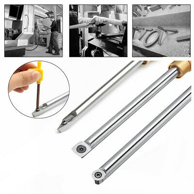 Round Square Diamond Wood Turning Tool Carbide Insert Cutter Tools Straight