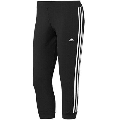 adidas ESS 3S Fitness Tight Damen, Farbe:Black, Damen Größen:L