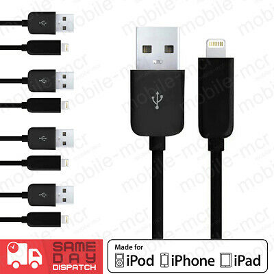 3FT USB Lightning Data Sync Charger Cable For Apple iPhone 6 5 7 iPad Air Mini