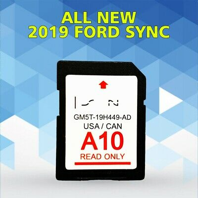 LATEST A10 2019 GPS Navigation SD CARD SYNC FITS ALL FORD LINCOLN UPDATES A9 A8