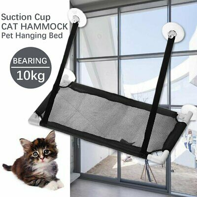 10Kg Pet Hammock Cat Basking Window Mounted Seat Home Suction Cup Hanging Bed US