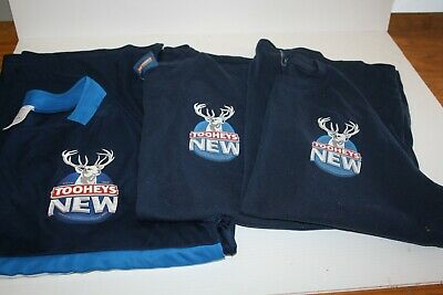 Tooheys New Shirts x 3 Size M + 3 stubbies holders