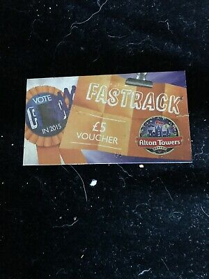 *Share The Fun Merlin Vouchers 1 Alton Towers £5 Off Fast Track