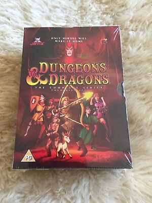 Dungeons & Dragons The Complete Series Dvd Animated **New & Sealed**