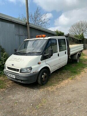 2006 Ford Transit 350 Rwd Double Cab Three Way Tipper Non Runner