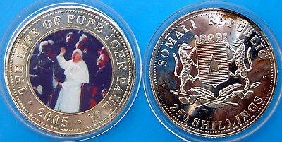 Somali Republic 250 Shillings 2005 The Life Of Pope John Paul Ii (4)