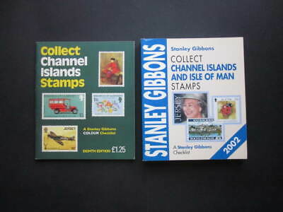 Multi-Listing Stanley Gibbons Collect Channel Islands +Also Isle Of Man Stamps
