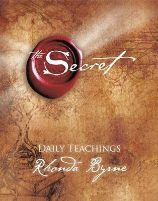 The Secret Daily Teachings By Rhonda Byrne Hardcover -Good Condition