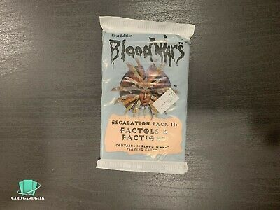 Blood Wars CCG - Escalation Pack II - Factols & Factions - Sealed Booster