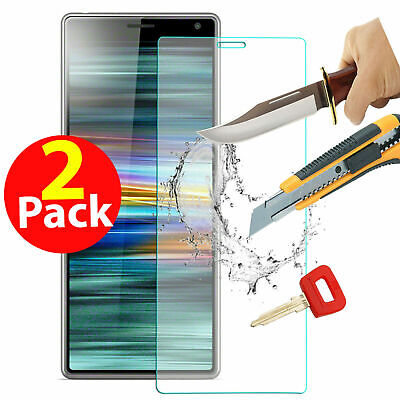 For Sony Xperia L3 L2 L1 Xa1 Xa2 Tempered Glass Screen Film Protector Front