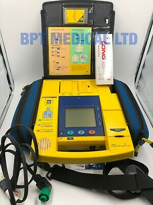 Laerdal Heartstart 4000 Defib AED + MANUAL MODE Pacer Charger Memory card M5500B