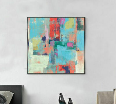 ZWPT929 abstract painted hand modern oil painting wall art on Canvas