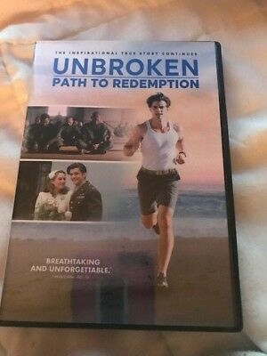 Unbroken: Path to Redemption (DVD,2018)***************FREE SHIPPING**