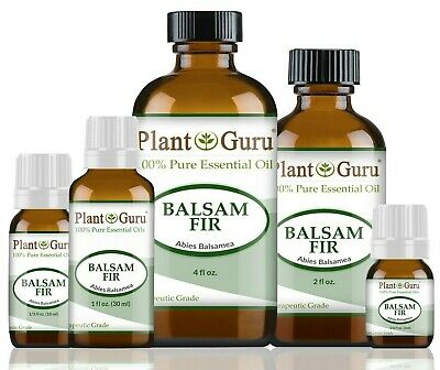 Balsam Fir Essential Oil 100% Pure Therapeutic Grade Cold Pressed Abies Balsamea