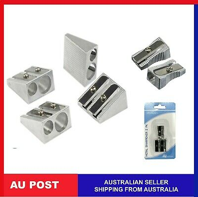 Metal Double Hole Pencil Sharpener Double and Single Hole