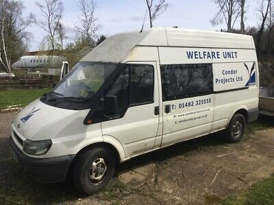 Ford Transit Welfare Van. NO RESERVE. MUST CLEAR FOR SPACE
