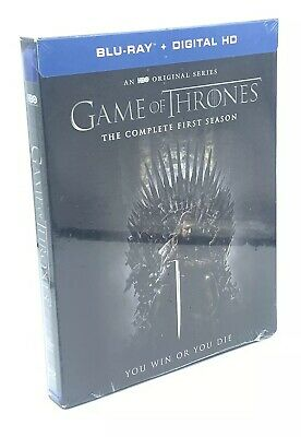 Game of Thrones: The Complete First Season (Blu-ray Disc, 2016, 5-Disc Set) NEW